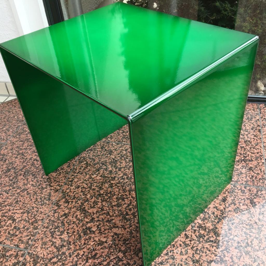 Tisch groß Lasur grün